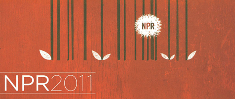 NPR 2011 Calendar National Public Radio 2011 Calendar Illustrators Deigners
